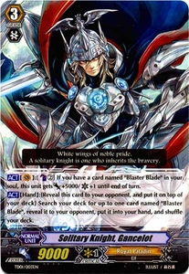 Cardfight Vanguard ENGLISH Blaster Blade Trial Deck Single Card Fixed TD01-003 Solitary Knight, Gancelot