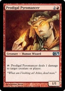 Magic the Gathering Magic 2011 (M11) Single Card Uncommon #152 Prodigal Pyromancer