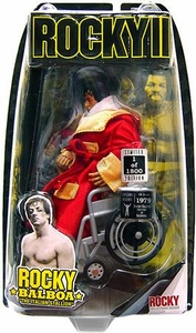 Jakks Pacific Rocky II Exclusive Action Figure Wheelchair Rocky Post Fight at Hospital