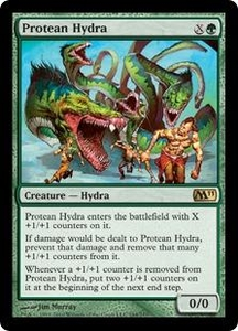 Magic the Gathering Magic 2011 (M11) Single Card Rare #194 Protean Hydra
