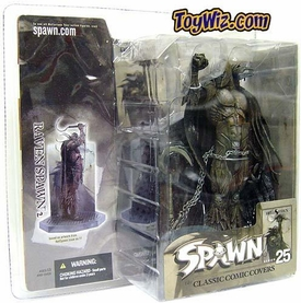 Spawn Classic Covers Series 25 Action Figure Raven Spawn 2