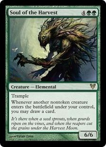Magic the Gathering Avacyn Restored Single Card Green Rare #195 Soul of the Harvest