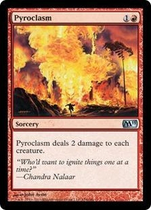Magic the Gathering Magic 2011 (M11) Single Card Uncommon #154 Pyroclasm