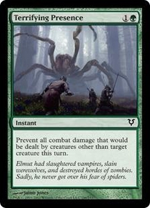 Magic the Gathering Avacyn Restored Single Card Green Common #196 Terrifying Presence