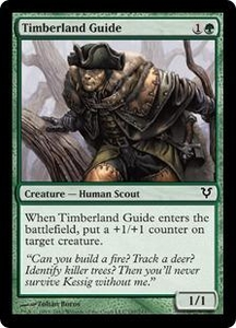 Magic the Gathering Avacyn Restored Single Card Green Common #197 Timberland Guide