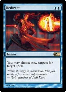 Magic the Gathering Magic 2011 (M11) Single Card Rare #71 Redirect