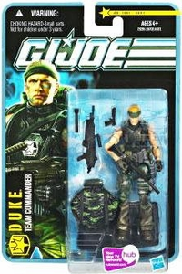 GI Joe Pursuit of Cobra 3 3/4 Inch Action Figure Jungle Assault Duke [Team Commander]