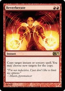 Magic the Gathering Magic 2011 (M11) Single Card Rare #155 Reverberate