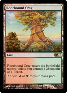 Magic the Gathering Magic 2011 (M11) Single Card Rare #227 Rootbound Crag