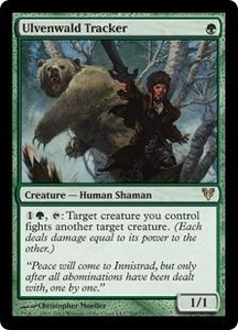 Magic the Gathering Avacyn Restored Single Card Green Rare #200 Ulvenwald Tracker