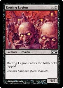 Magic the Gathering Magic 2011 (M11) Single Card Common #115 Rotting Legion