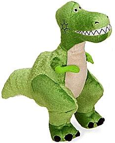 Disney & Pixar Toy Story Exclusive 8 Inch Mini Plush Figure Rex the Dinosaur