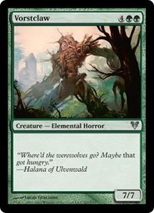 Magic the Gathering Avacyn Restored Single Card Green Uncommon #201 Vorstclaw