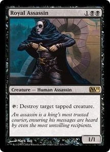 Magic the Gathering Magic 2011 (M11) Single Card Rare #116 Royal Assassin