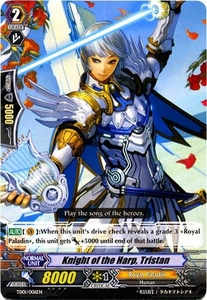 Cardfight Vanguard ENGLISH Blaster Blade Trial Deck Single Card Fixed TD01-006 Knight of the Harp, Tristan