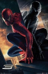 Spider-Man 3 Movie Poster The Villain #9090