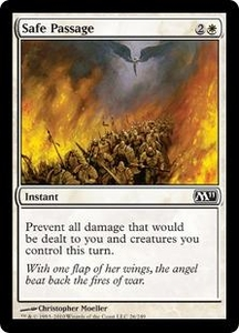 Magic the Gathering Magic 2011 (M11) Single Card Common #26 Safe Passage