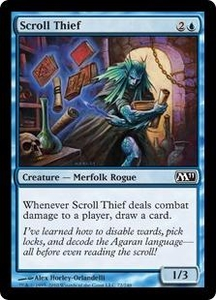 Magic the Gathering Magic 2011 (M11) Single Card Common #72 Scroll Thief