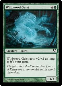Magic the Gathering Avacyn Restored Single Card Green Common #204 Wildwood Geist