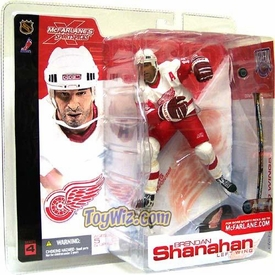 McFarlane Toys NHL Sports Picks Series 4 Action Figure Brendan Shanahan (Detroit Red WIngs) White Jersey
