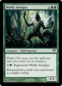 Magic the Gathering Avacyn Restored Single Card Green Uncommon #205 Wolfir Avenger