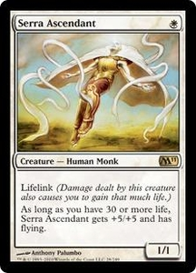 Magic the Gathering Magic 2011 (M11) Single Card Rare #28 Serra Ascendant