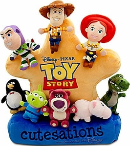 Disney / Pixar Toy Story 3 Exclusive Cutesations Plush Sheriff Badge [Includes 8 Mini Plush Figures!]