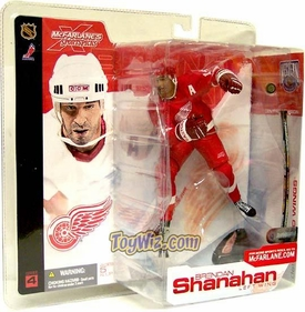 McFarlane Toys NHL Sports Picks Series 4 Action Figure Brendan Shanahan (Detroit Red Wings) Red Jersey Variant