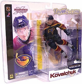 McFarlane Toys NHL Sports Picks Series 4 Action Figure Ilya Kovalchuk (Atlanta Thrashers) Blue Jersey BLOWOUT SALE!