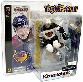 McFarlane Toys NHL Sports Picks Series 4 Action Figure Ilya Kovalchuk (Atlanta Thrashers) White Jersey Variant