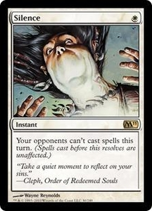 Magic the Gathering Magic 2011 (M11) Single Card Rare #30 Silence
