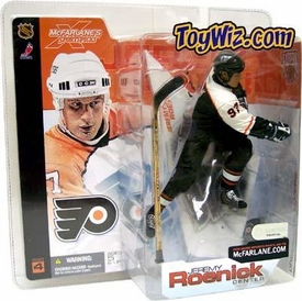 McFarlane Toys NHL Sports Picks Series 4 Action Figure Jeremy Roenick (Philadelphia Flyers) Black Jersey Variant