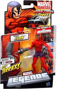 Marvel Legends 2012 Series 1 Action Figure Marvel's Klaw [Terrax Build-A-Figure Piece]
