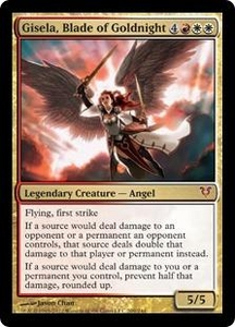 Magic the Gathering Avacyn Restored Single Card Gold Mythic Rare #209 Gisela, Blade of Goldnight
