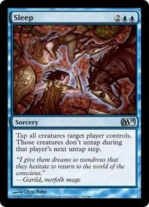 Magic the Gathering Magic 2011 (M11) Single Card Uncommon #73 Sleep