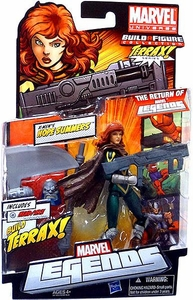 Marvel Legends 2012 Series 1 Action Figure X-Men's Hope Summers [Terrax Build-A-Figure Piece]
