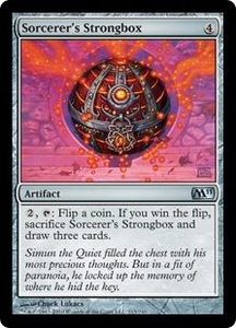 Magic the Gathering Magic 2011 (M11) Single Card Uncommon #213 Sorcerer's Strongbox
