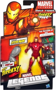 Marvel Legends 2012 Series 1 Action Figure Extremis Iron Man {Red & Gold Armor} [Terrax Build-A-Figure Piece]