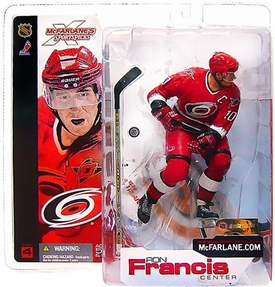 McFarlane Toys NHL Sports Picks Series 4 Action Figure Ron Francis (Carolina Hurricanes) Red Jersey Variant BLOWOUT SALE!