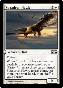 Magic the Gathering Magic 2011 (M11) Single Card Common #33 Squadron Hawk