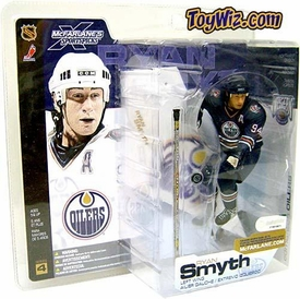 McFarlane Toys NHL Sports Picks Series 4 Action Figure Ryan Smyth (Edmonton Oilers) Blue Jersey Variant