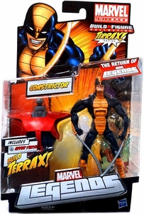 Marvel Legends 2012 Series 1 Action Figure Constrictor [Terrax Build-A-Figure Piece]