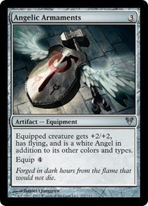 Magic the Gathering Avacyn Restored Single Card Artifact Uncommon #212 Angelic Armaments