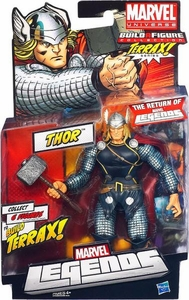 Marvel Legends 2012 Series 1 Action Figure Thor [Terrax Build-A-Figure Piece]