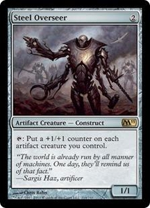 Magic the Gathering Magic 2011 (M11) Single Card Rare #214 Steel Overseer