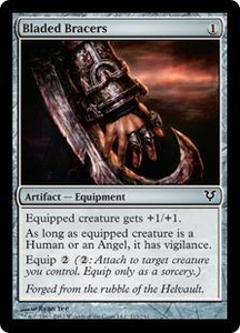 Magic the Gathering Avacyn Restored Single Card Artifact Common #213 Bladed Bracers