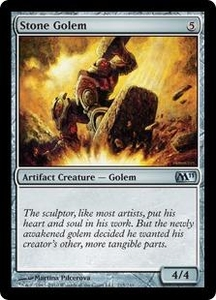 Magic the Gathering Magic 2011 (M11) Single Card Uncommon #215 Stone Golem