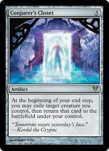 Magic the Gathering Avacyn Restored Single Card Artifact Rare #214 Conjurer's Closet