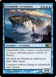 Magic the Gathering Magic 2011 (M11) Single Card Rare #74 Stormtide Leviathan