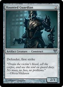 Magic the Gathering Avacyn Restored Single Card Artifact Uncommon #216 Haunted Guardian